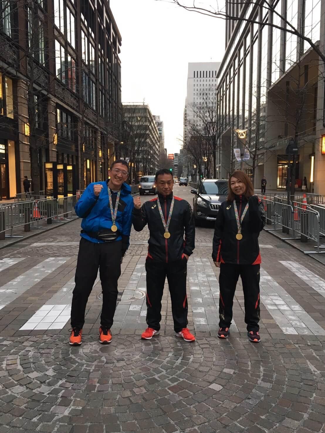 2017東京マラソン完走メダル